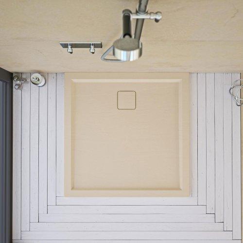 West One Bathrooms Matki Slate Shower Tray Standard