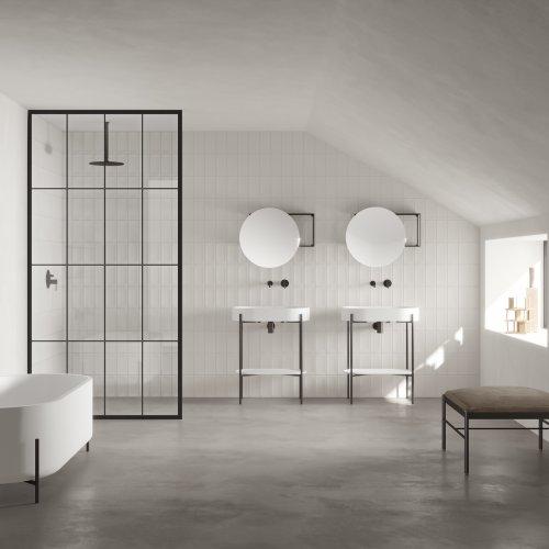 West One Bathrooms Plateau Nero
