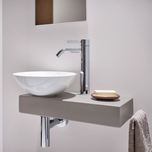West One Bathrooms  Alape Piccolo Novo Gravel Matt