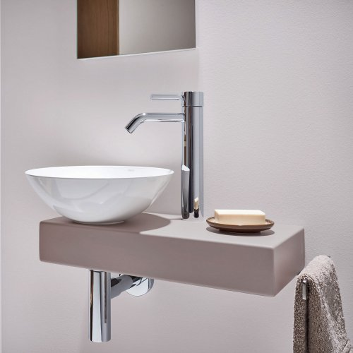 West One Bathrooms Alape Piccolo Novo Oyster Matt