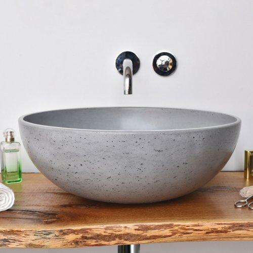 West One Bathrooms Gravelli Orb grey print