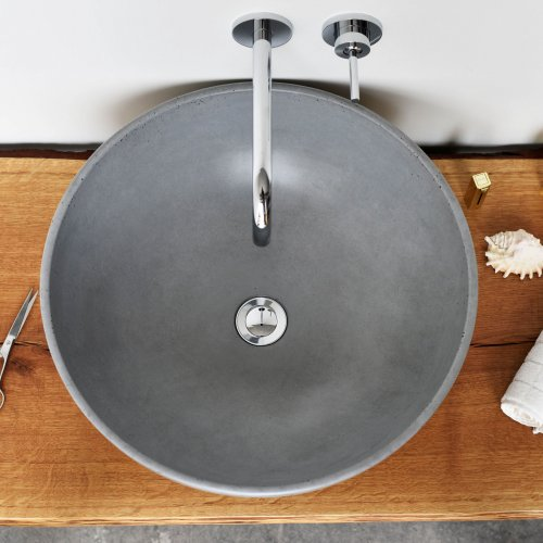 West One Bathrooms Gravelli Orb grey print3