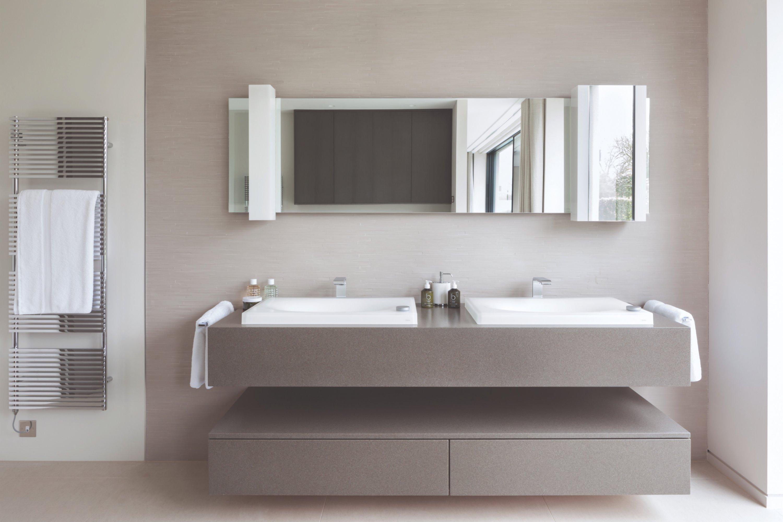 West One Bathrooms   Surrey Master Bathroom Luminest Basins Main