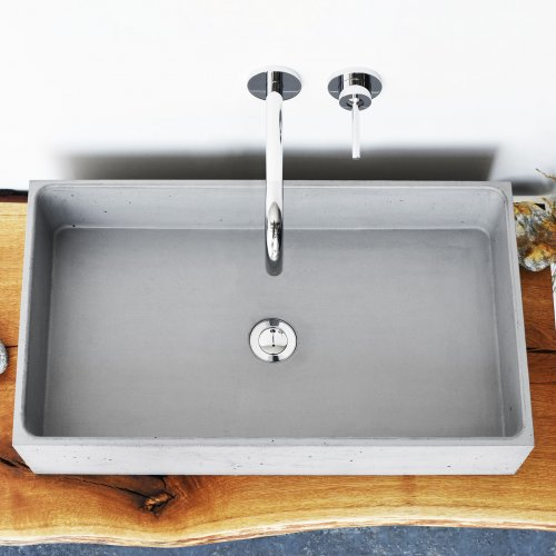 West One Bathrooms box basin gr print