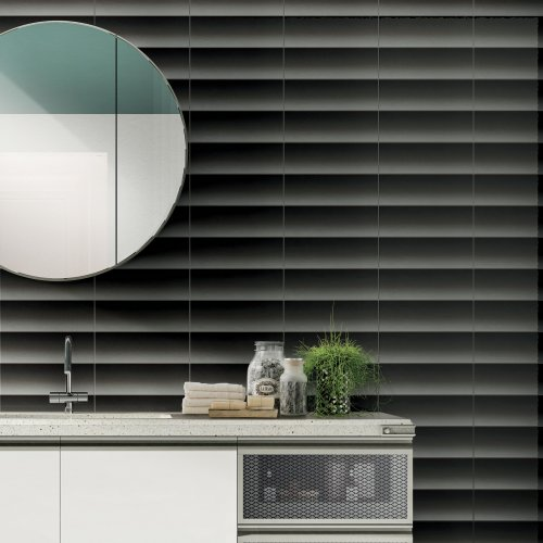 West One Bathrooms – Shades of Blinds – Black