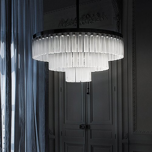 West One Bathrooms Orgue chandelier 01