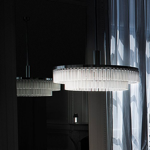 West One Bathrooms Orgue chandelier 02