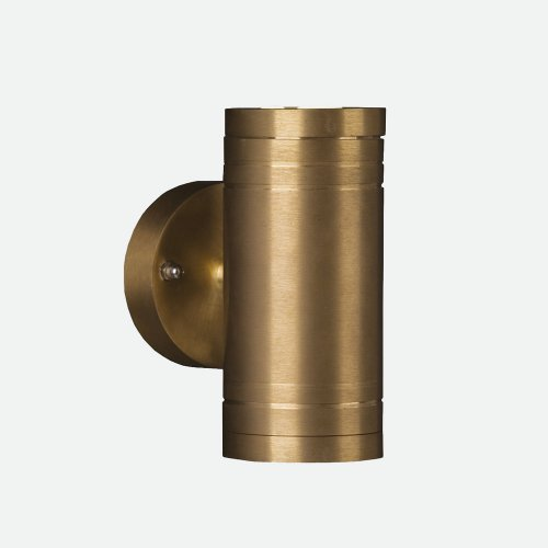 West One Bathrooms Elite Up Down natural brass