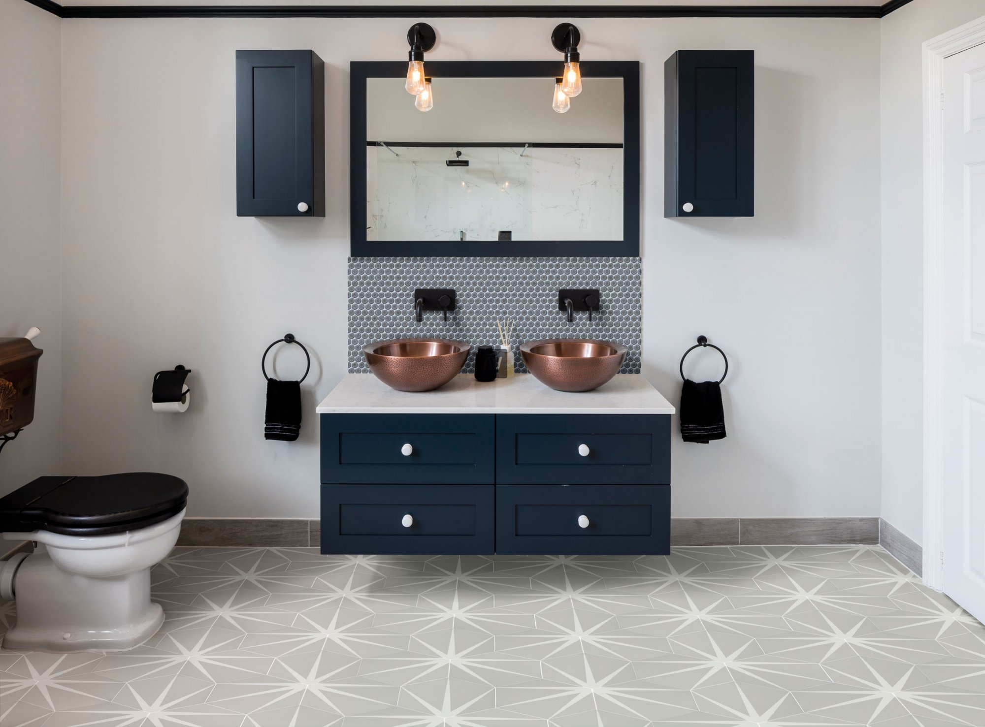 West One Bathrooms file watermark Cloud Floor   Tempest Penny Splash Back  1
