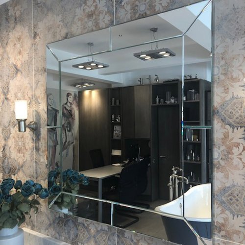 West One Bathrooms Bagno Square mirror 01
