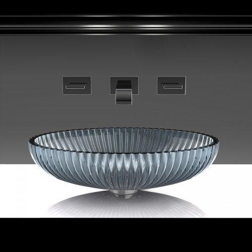 West One Bathrooms Glass Design – Premium Storm grey 1