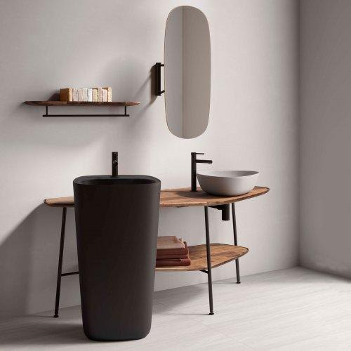 West One Bathrooms – Plural Vitra ISH 2019 Pecora set 5 room1  close up 1