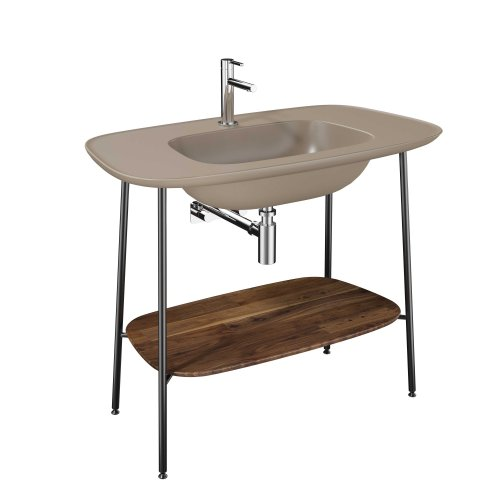 West One Bathrooms Plural Washbasin   Mink