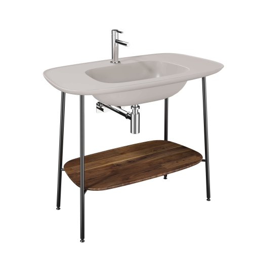 West One Bathrooms Plural Washbasin – Taupe