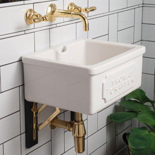 West One Bathrooms Downham basin & Darby brackets