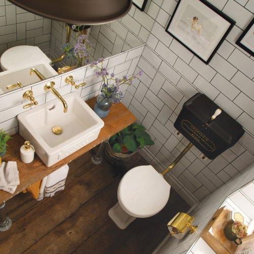 West One Bathrooms LL Cloakroom set – overhead shot