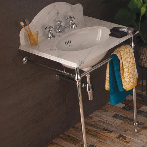 West One Bathrooms Single marble washstand