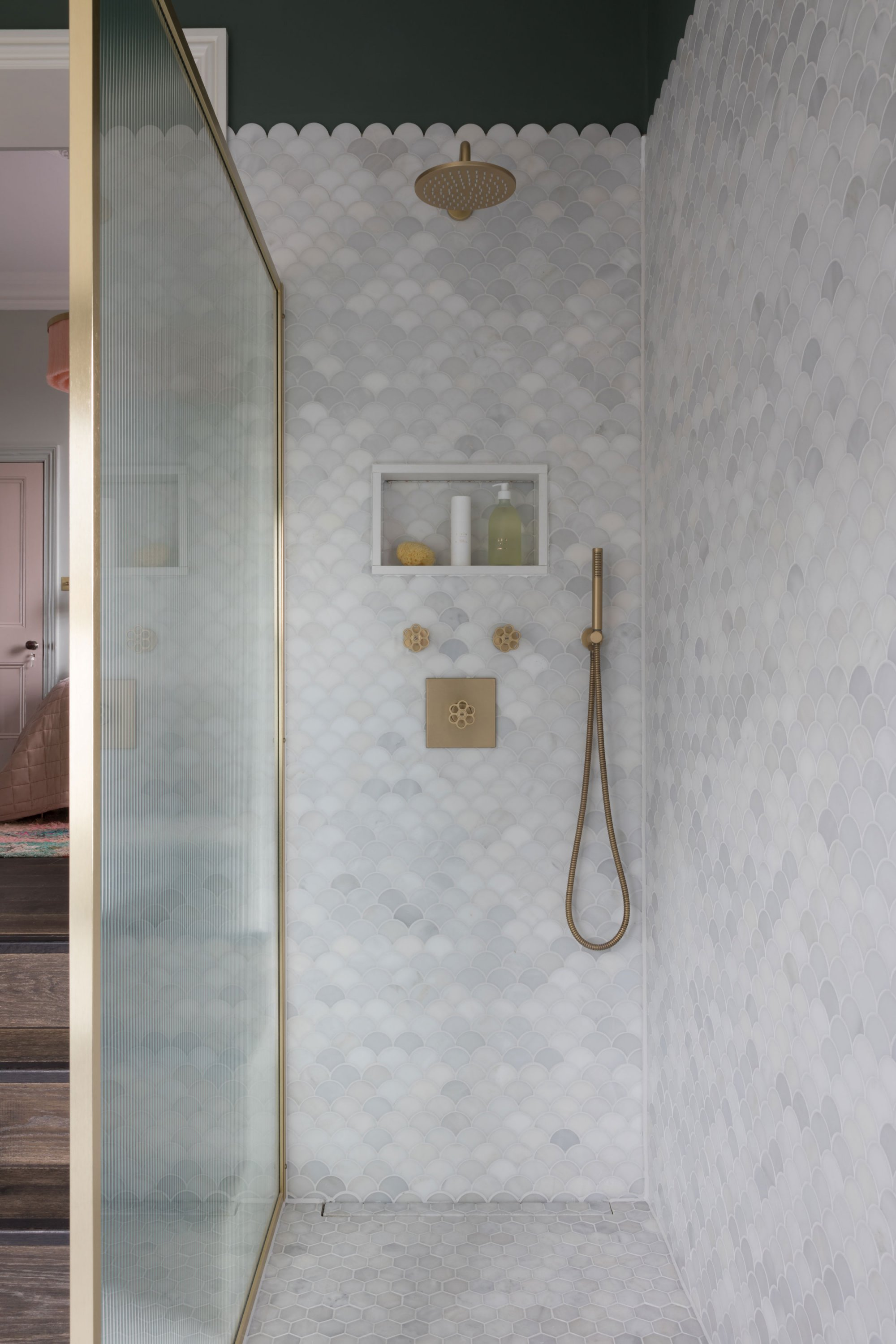 Marble Shower 19