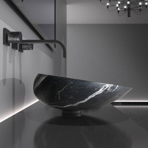 West One Bathrooms – Kool Max Marble Black