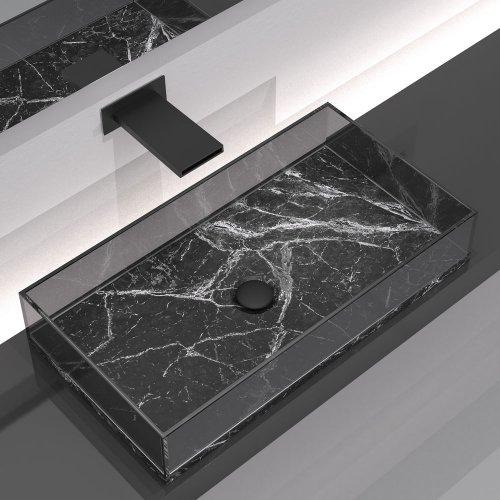 West One Bathrooms – Skyline Marble Black 2