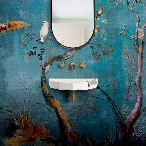 West One Bathrooms Elle & James basin set up Square LR