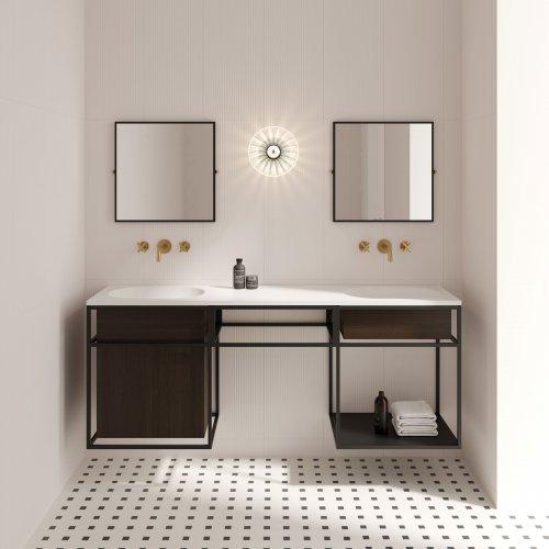 West One Bathrooms FRAME + NOUVEAU MIRROR