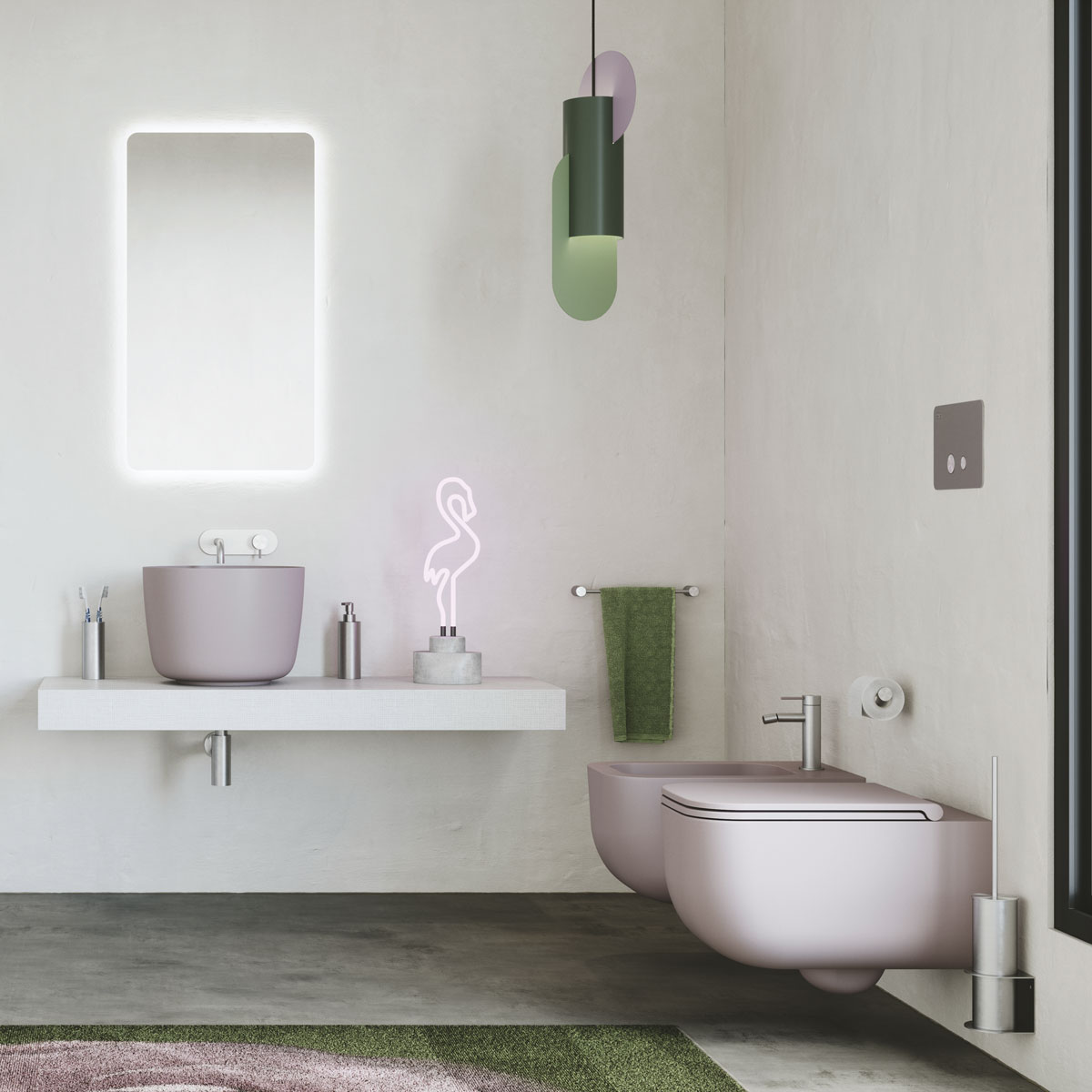 West One Bathrooms – Primo Lux Camelia 56