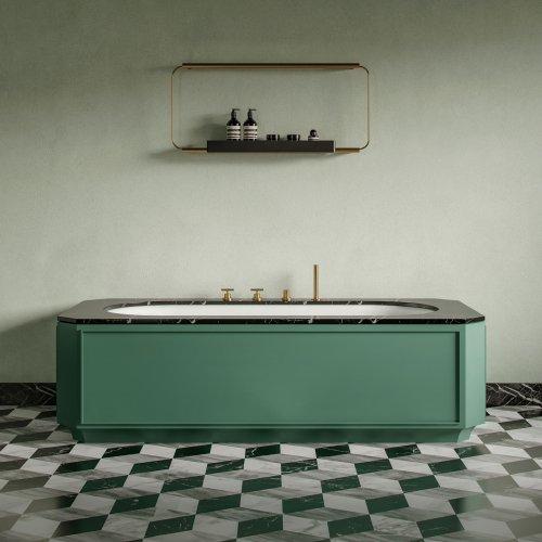 West One Bathrooms Nostalgia Bath 01