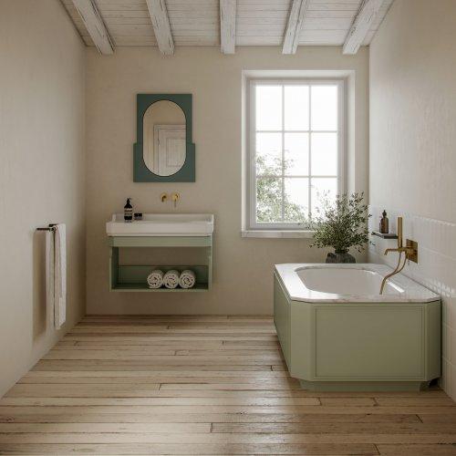 West One Bathrooms Nostalgia Bath  Basin 01